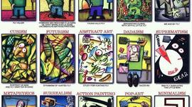 Maya & Tara's History of Art & Design timeline