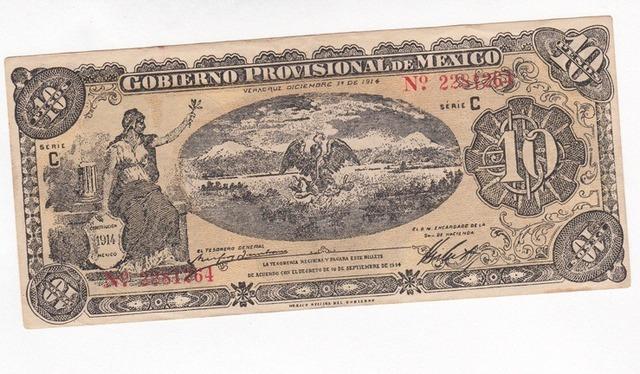 Billetes en circulacion