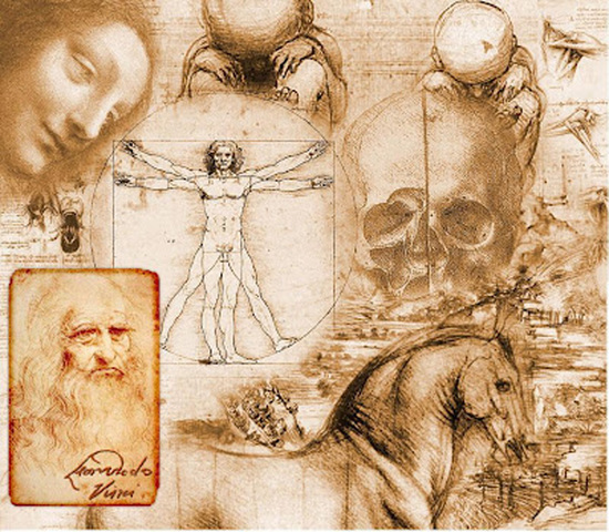 LEONARDO DA VINCI ( 1452- 1519)
