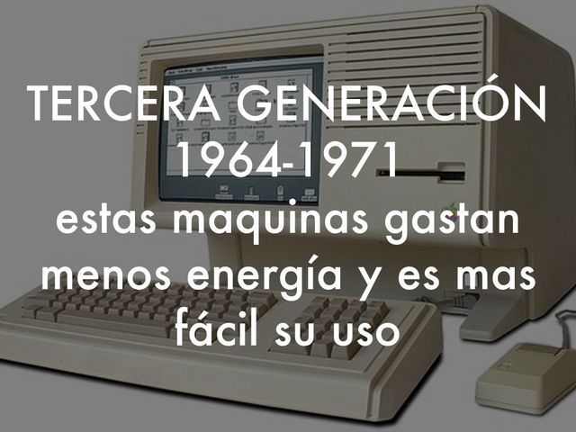 TERCERA GENERACIÓN (1964 – 1974)