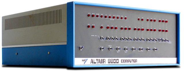 ALTAIR 8800, 1975.