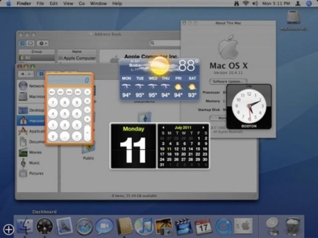 "2005: Mac OS X 10.4 ""Tiger"""