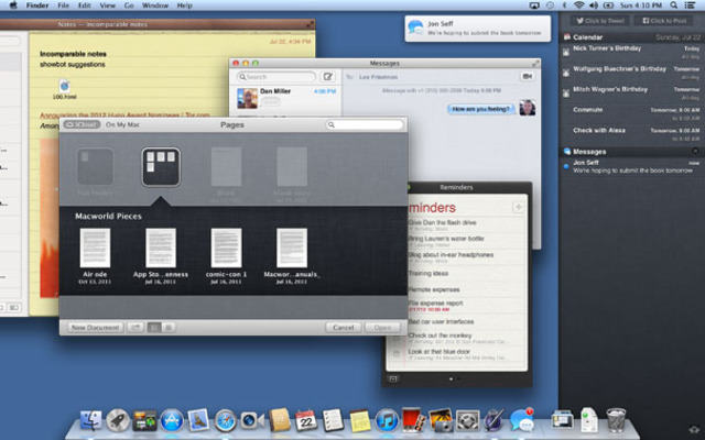 2012: Mac OS X 10.8 Mountain Lion