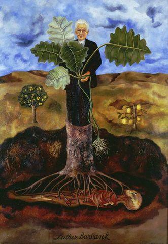 Incluye elemento surrealista en su pintura