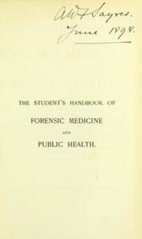 A Treatsie on Forensic Science and Public Health