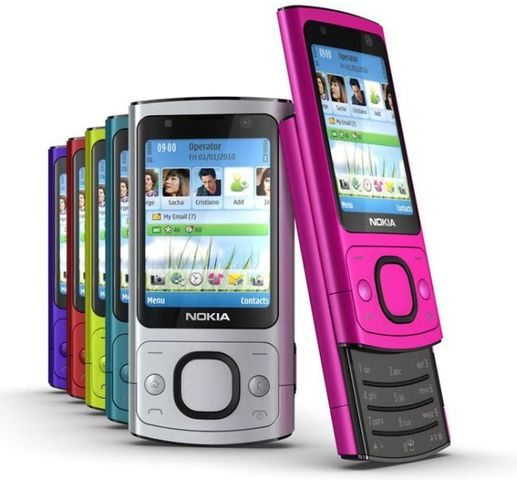2010 - Nokia 6700 Slide