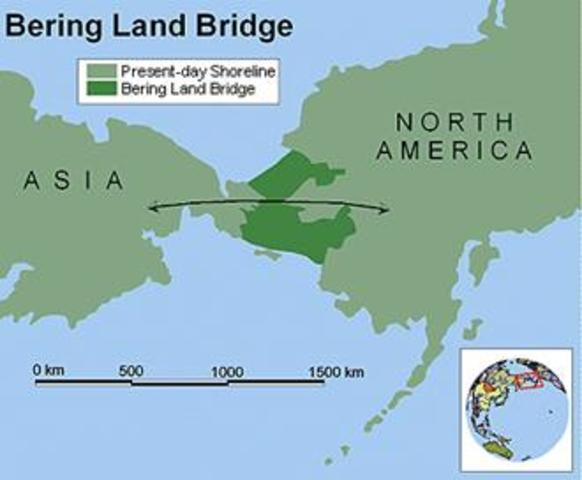 Bering Land Bridge — First Migration to the Americas