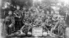 Håndvåben under 1. verdenskrig og 2. verdenskrig timeline