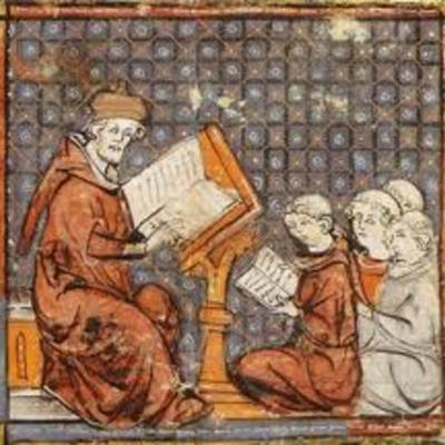De San Agustín al Imperio Carolingio timeline