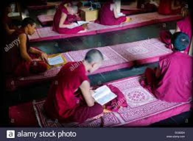 Educación de Monges