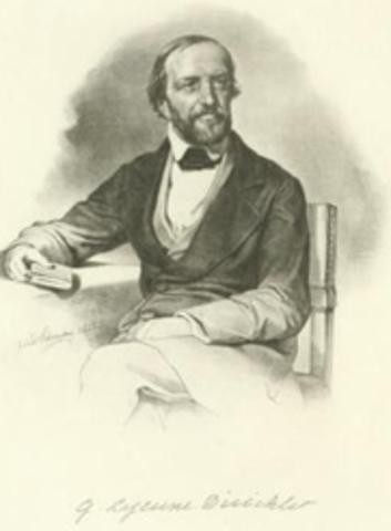 Peter Gustav Lejeune Diriclet (1805-1859)