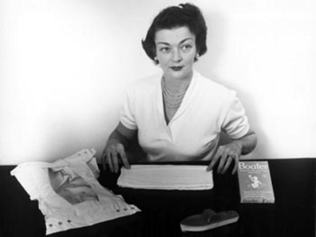 Patent An Idea >> Marion Donovan timeline | Timetoast timelines