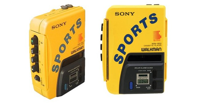 waterproof walkman from SONY