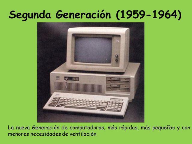 Inicio de la Segunda Generacion.