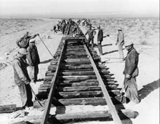 Transcontinental Railroad Completed
