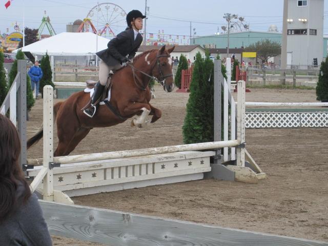 Started horseback riding