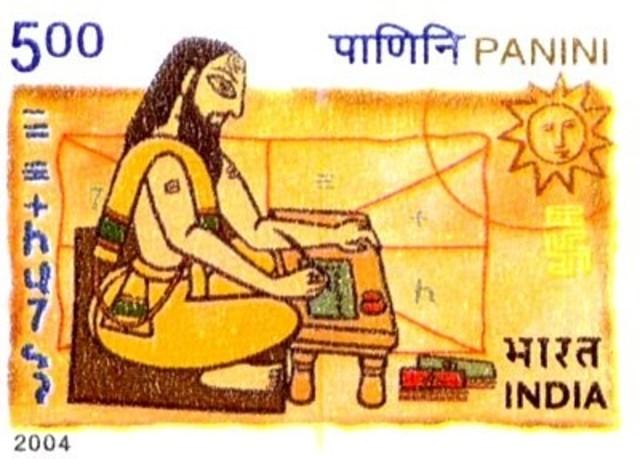 Resultado de imagen de A partir de los trabajos de Panini, el lenguaje en la India evolucionó de manera considerable