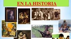 LOS NIÑOS EN LA HISTORIA timeline