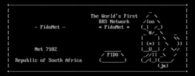 Pierwsze połączenie z FidoNetem