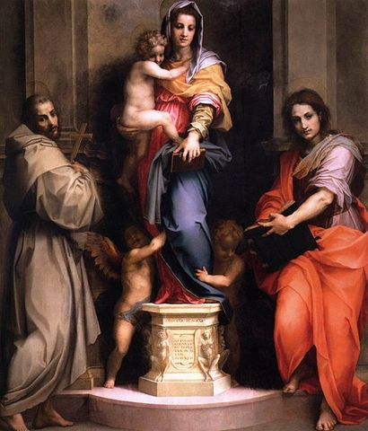 Madonna delle Arpie, A.del Sarto