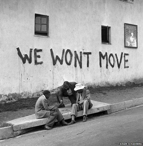 Blacks Resettlement Act No. 19