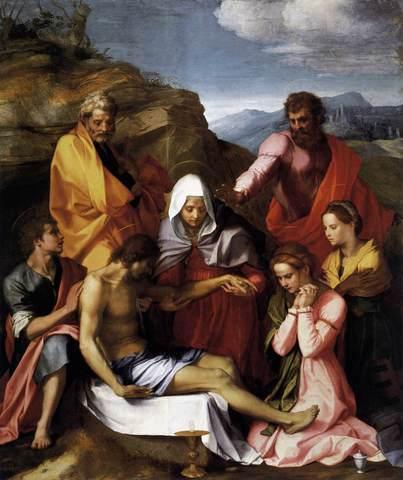 Pietà di Luco,Andrea del Sarto,G.Palatina