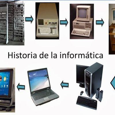 LA HISTORIA DE LA INFORMÁTICA timeline