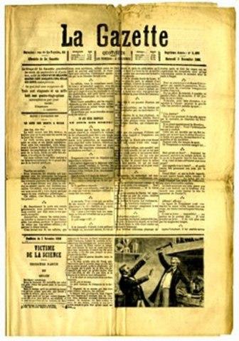 Англия. Первое рекламное объявление в английской газете