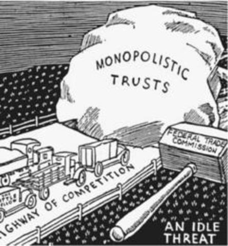 •Sherman Anti-Trust Act