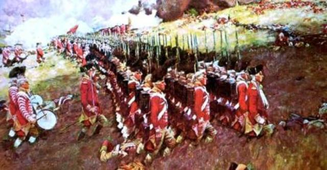 Battle of bunker hill date in Australia