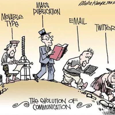 Evolución de las comunicaciones y redes de datos (José Bautista Castaño) timeline