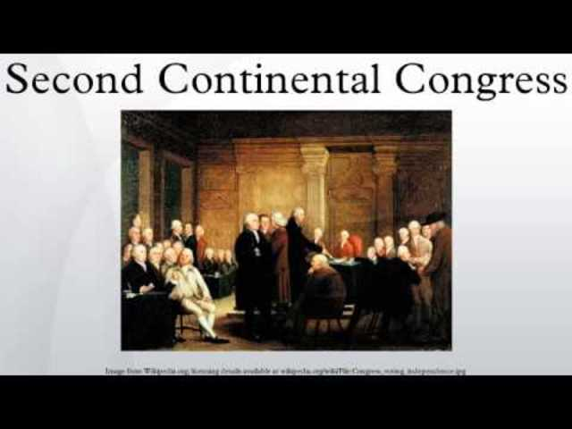 An analysis of the topic of the second continental congress convenes in philadelphia