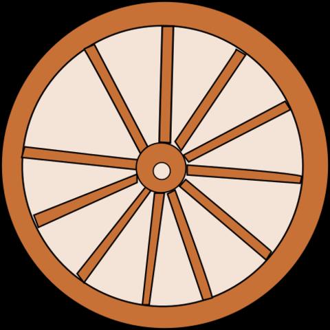 rueda antigua