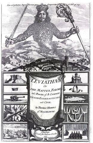 Thomas Hobbes - The Leviatan