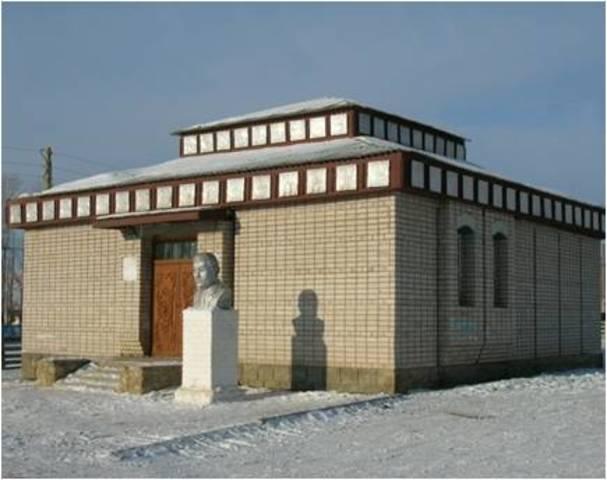Открытие литературно-краеведческого музея им.Жамсо Тумунова в селе Таптанай