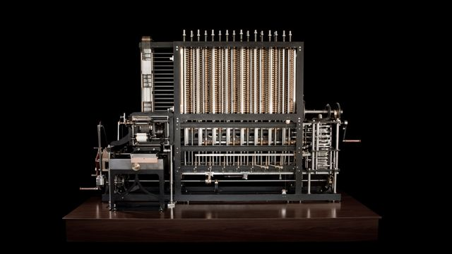 Charles Babbage - The Babbage Engine