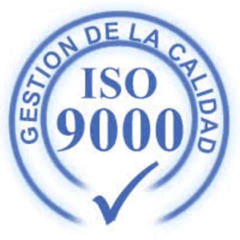 1987. ISO crea la serie de estandarización ISO 9000.