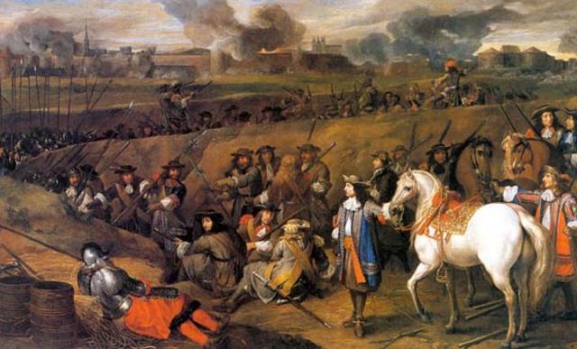 Luis XIV Normalización en la milicia