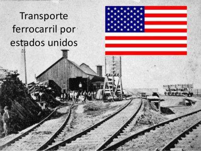 El Ferrocarril en Norteamérica