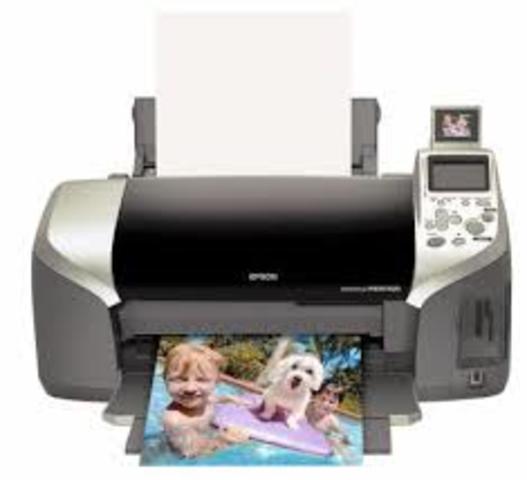 Impresoras de inyección de tinta.