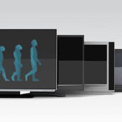 Evolución del Televisor  timeline