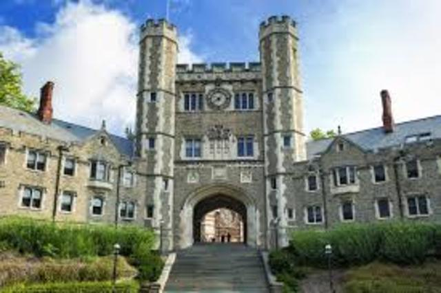 Princeton College Founded