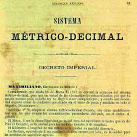 SISTEMA MÉTRICO DECIMAL EN MÉXICO