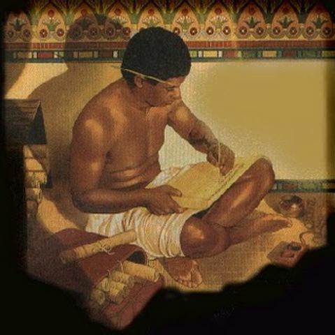 Los faraones Egipcios envian a mensajeros para difundir los decretos