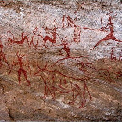 Cave Art-1950 Timeline