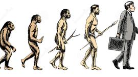 Evolución a través del tiempo timeline
