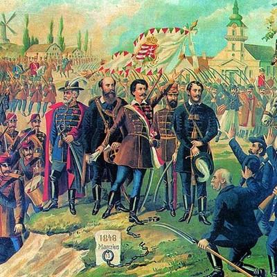 Az 1848-49-es forradalom és szabadságharc eseménytörténete timeline