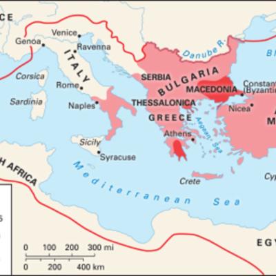 History of the Byzantines timeline