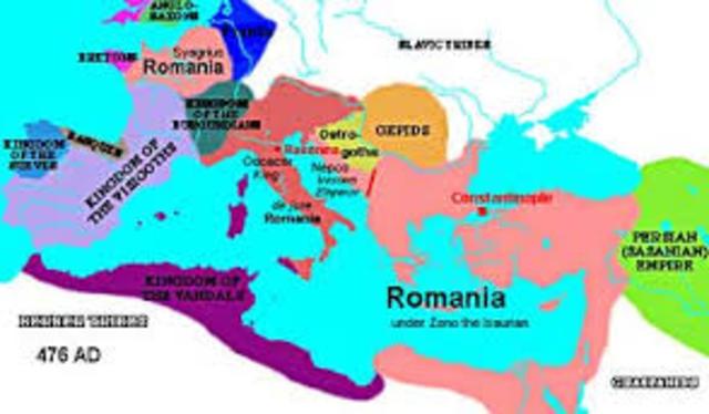 The history of the Byzantine empire timeline | Timetoast ...