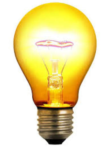 •	Light Bulb Invented